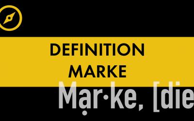 #005 Definition Marke